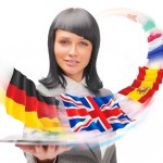 woman flags ftd