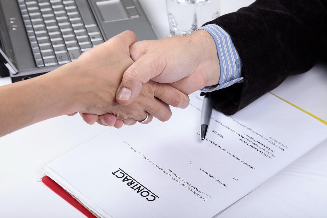 contracting finding government customers